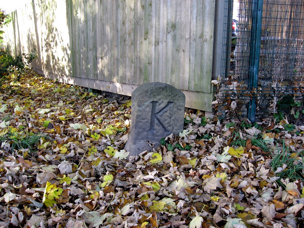 Enclosure boundary stone 'Knaresborough'