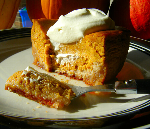 Healthy Pumpkin Gooey Butter Cake
