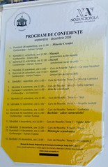 Program de Conferinte