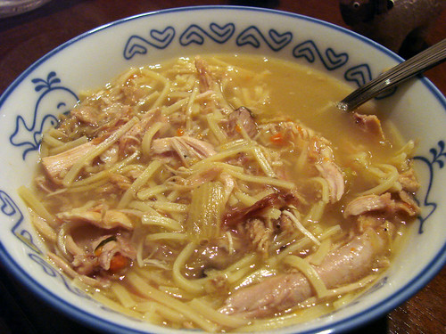 Turkey Noodle Soup!