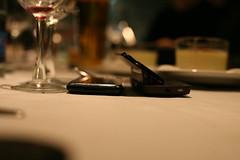 Nokia N97 next to iPhone