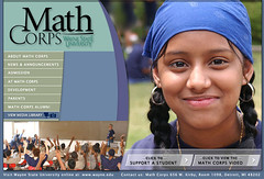 Math Corps is an academic mentoring program between Wayne State University and Detroit Public Schools. More on www.WhatsTheDIFF.com