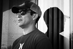 {2/365} Foggy Morning (Sergio L.A.) Tags: california portrait selfportrait sergio photoshop 50mm blackwhite losangeles nikon december 365 nikkor 2008 escobar lightroom f18d adayolder sergioescobar idontlikecolddays sergiola