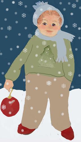 Benjamin-in-snow