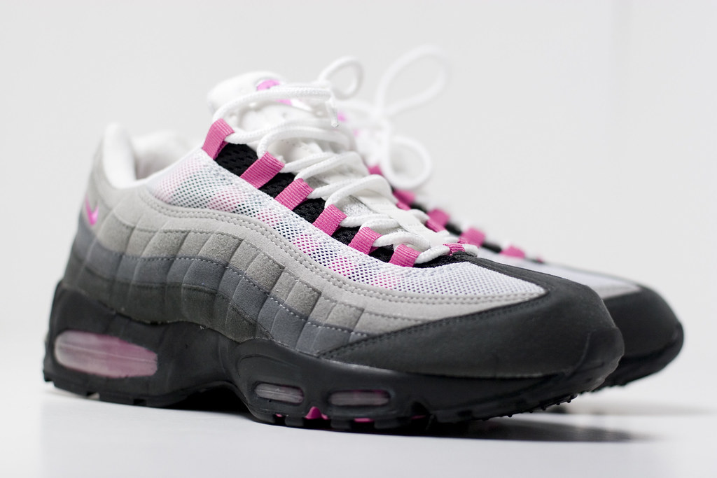 Buy Pink And Grey Nike Air Max 95 Up To 75 Discounts