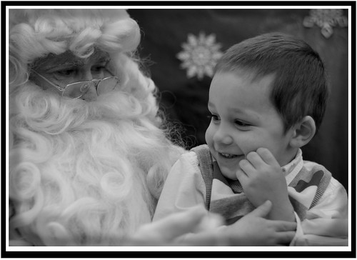 Santa and James