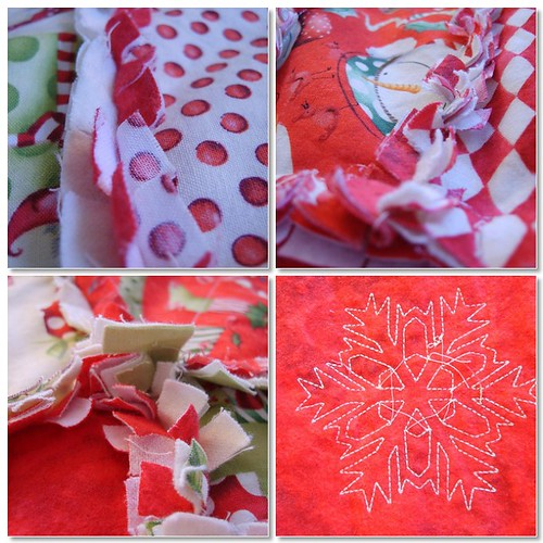 Christmas Rag Quilt 3