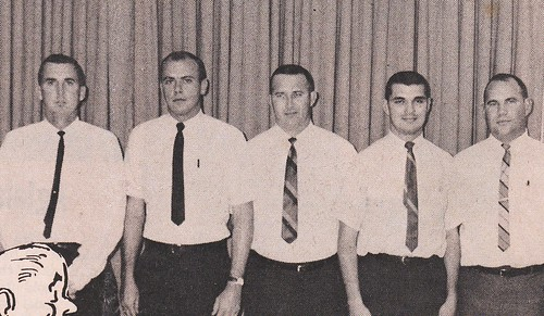 Basketball coaches, 1967