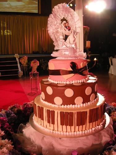 เค้กแต่งงานน่ารักมาก