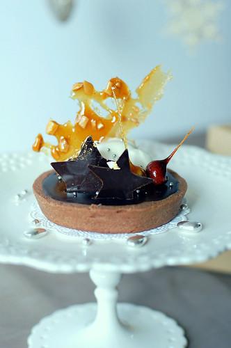 Tarte au chocolat et caramel ~ 香濃焦糖巧克力塔