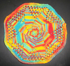 December Mid Month KAL - Doily Style Dishcloth
