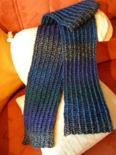one row scarf0694