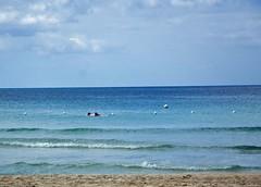 Jamaica CSA December 2008 (reneerwest) Tags: water dinner couples sunsets away jamaica swept negril beachbar