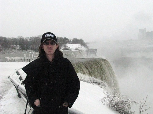 Me at Niagara Falls Water Falls