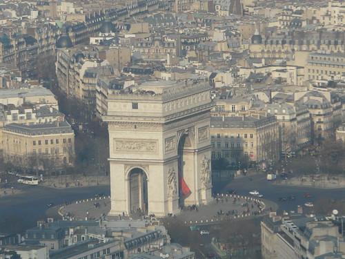 Arc de Triomf, plaça Etoile