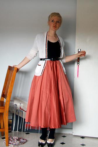 satin skirt redux