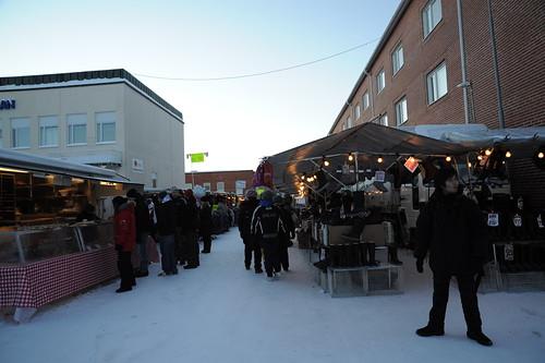 北のマーケット