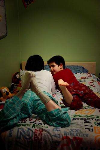 Jessie & Gustavo Reading LOMO