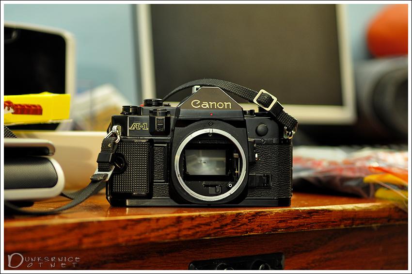 Canon film.