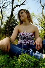 80 (Haleyy Ann) Tags: hello blue trees feet nature grass smiling standing skinny outside necklace sitting top lol tube young holes jeans blonde teenager denim swallow haley fifteen idk beauitful