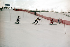4c-463 (nick dewolf photo archive) Tags: winter ski color film start 35mm colorado december skiing gates nick competition racing course alpine skis aspen 1980 1980s racecourse slalom buttermilk snowskiing skiers proam dewolf 4c skimountain competitors micheloblight startinggate downhillskiing nickdewolf photographbynickdewolf buttermilkmountain professionalskiing reel4c proamcourse micheloblightproam worldproskiing worldproskiingtour micheloblightcup micheloblightcompetition