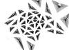 tfl_013 / Elijah Porter (_ElijahPorter) Tags: field architecture pattern generative linedrawing delaunay elijahporter
