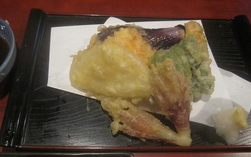 天ぷら@蕎麦切り屋(東長崎)