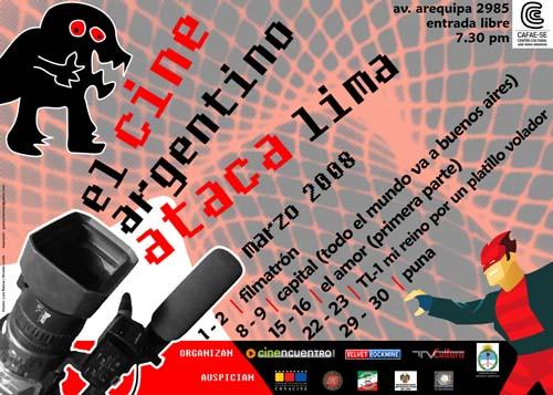 Afiche Cinencuentro Cine Argentino 160