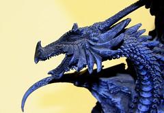 Kiss Of The Dragon (Ewciak & Leto) Tags: sculpture dark sadness dragon sad darkness gothic goth dream fantasy legend canoneos350d myth v401500 v101200 v76100 v501600 v601700 v201300 castlesdreams v301400