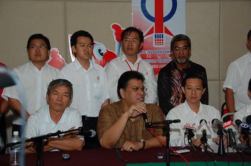 Dato Zahrain and Lim Guan Eng