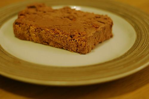 Chocolate amaretti parfait