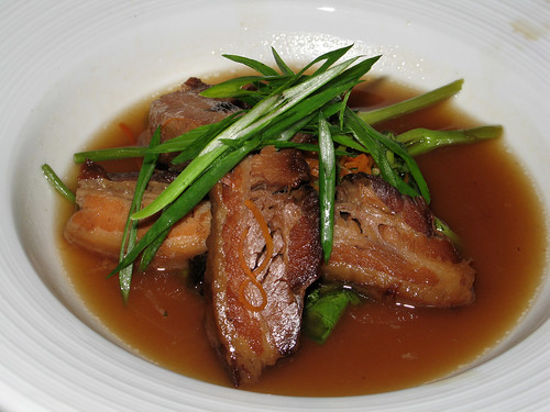 Braised Pork Belly with Ginger Broth