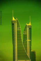V [GREEN] (radiant guy) Tags: building green architecture buildings bahrain architect البحرين أخضر megashot
