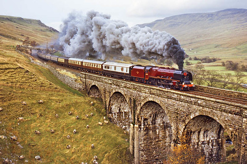 46229 Ais Gill (geoffspages) Tags: railway steam uksteam