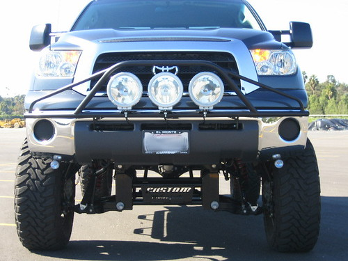N-Fab prerunner light bar.