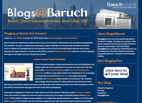 Image of Blogs@Baruch