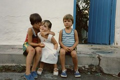 Quique de nano, su hermana y el Santi (Quique Baeza) Tags: quique baeza