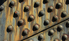 =BridgeTex8m_9158 (MyArtistSoul) Tags: bridge texture oregon portland rust rivet crosslight 9158