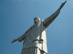 Cristo Redentor (ellamiranda) Tags: rio brasil riodejaneiro rj cidademaravilhosa cristoredentor corcovado turisteando marzo2008