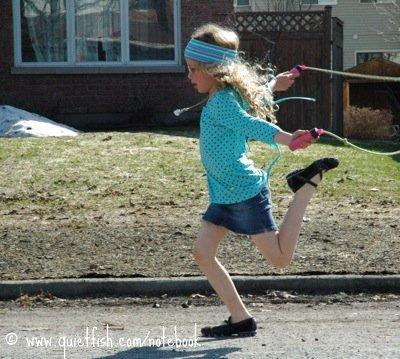 skip running