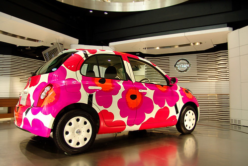 MICRA flower color version.(marimekko design)
