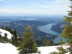 Hood Canal and Lake Cushman