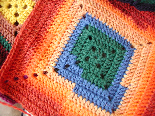 Sebrina's Blanket - Close Up detail