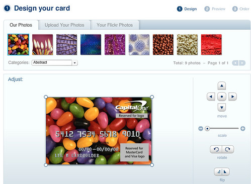 capital one wants to get personal - Personalized Credit Cards
