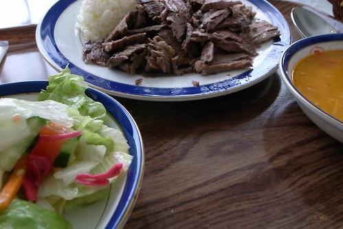 九段のトルコ料理屋