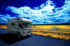 Japanese RV (/\ltus) Tags: japan hokkaido rv hokkaidolife higashikawa campingcar nothdr vantech zil520 pentaxk20d