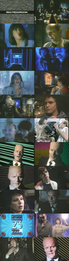 cinemageddon org Max Headroom Extended Cinemax Version 1985/Other/XViD preview 2