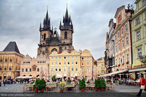 Il Ponte di Carlo a Praga.