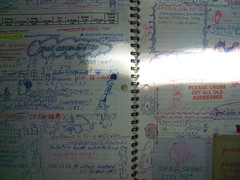 (ohbara) Tags: notebook diary 20012002 datebook myarchive junioryearofcollege