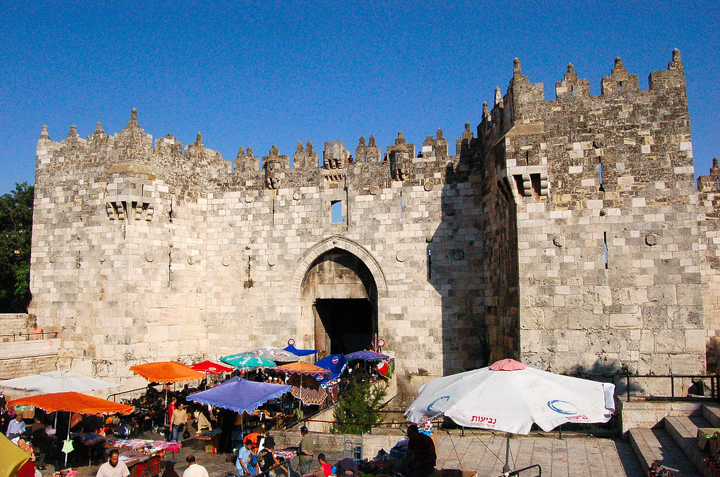 Damascus Gate, יְרוּשָׁלַיִם Jerusalem 耶路撒冷